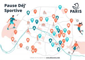 -- Carte Paris Pause Déj Sportive x AllSessions --